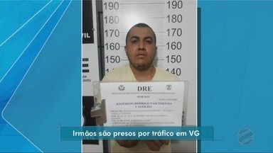 Irmãos são presos em flagrante por tráfico de drogas em Várzea Grande - Irmãos são presos em flagrante por tráfico de drogas em Várzea Grande.