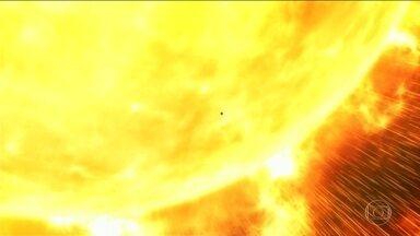 Nasa lança sonda para estudar o sol - Vae vai recolher informações sobre as tempestades solares que interferem nos satélites e nas comunicações na Terra
