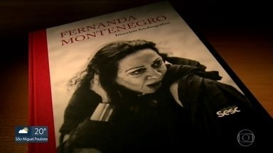 Fernanda Montenegro lança livro sobre a carreira - Atriz lança uma fotobiografia que conta os quase 75 anos de carreira no teatro, cinema e TV.