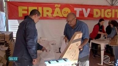 Fim de semana de Feirão Digital em Campo Grande - Sinal analógico será desligado em 14 de agosto.
