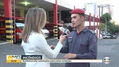 Corpo de Bombeiros dá orientações para evitar incêndio dentro de casa - Entrevista com o tenente Pedro Aihara.