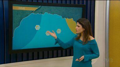 Pode chover agora à tarde no Noroeste - Temperaturas voltam a subir no fim de semana.