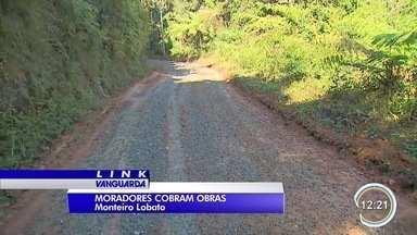 Calendário: bairro Descoberto em Monteiro Lobato - Obras estão na reta final, problema resolvido.