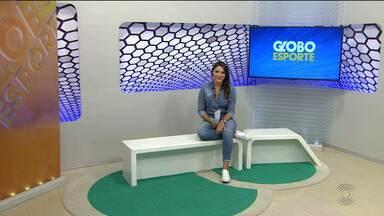 Confira a íntegra do Globo Esporte CG, com Laisa Grisi - Veja o que foi destaque no esporte paraibano desta quarta-feira.