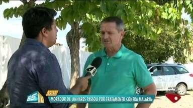 Caso de malária é confirmado em Linhares, Norte do ES - Já foram registrados 123 casos da doença no estado.