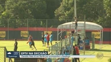 Apresentador Geraldo Neto acompanha a concentração do Botafogo-SP no Recife - Tricolor de Ribeirão Preto (SP) enfrenta o Botafogo-PB no domingo (19).