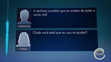 Quadrilha suspeita de aplicar golpes por telefone é presa em São José - No celular deles, polícia encontrou fotos e vídeos ostentando dinheiro.