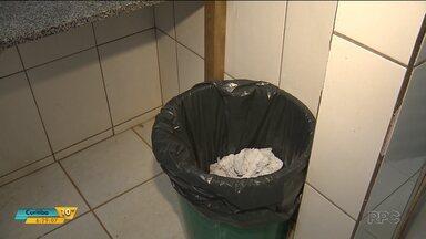 Feto é encontrado dentro do lixo de um banheiro de uma escola - O caso aconteceu em Marialva.