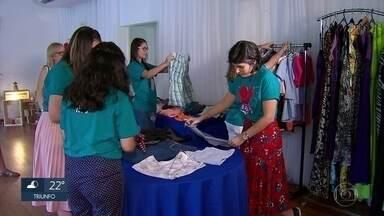 Bazar solidário ajuda crianças carentes - Ação foi organizada por integrantes de igreja, em Olinda