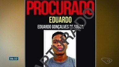 Polícia prende procurado por estupro de criança de 4 anos na Zona Oeste do Rio - Eduardo Gonçalves de Souza, de 19 anos, foi encontrado em Vila Velha, no Espírito Santo. Crime ocorreu no início de agosto, e jovem estava foragido desde então.
