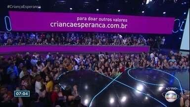 Confira a noite de shows do Criança Esperança - Festa aconteceu no sábado (18).