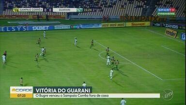 Guarani vence Sampaio Côrrea por 2 a 0 - Reveja os melhores momentos da partida.