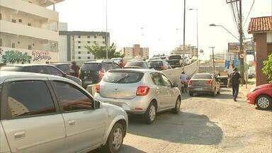 Desvios confundem motoristas na Av. Aguanambi - Saiba mais em g1.com.br/ce