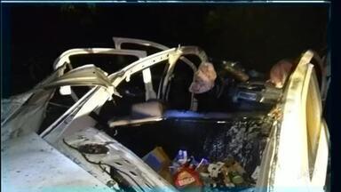 Vereador de Aracati sofre acidente com carro da câmara - Saiba mais em g1.com.br/ce