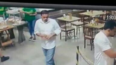 Homens se passam por clientes e assaltam padaria no Dionísio Torres - Saiba mais em g1.com.br/ce