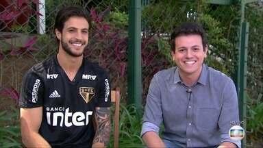 Hudson fala ao vivo no Globo Esporte - Hudson fala ao vivo no Globo Esporte