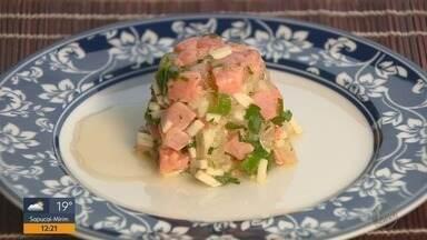 Fernando Kassab ensina uma deliciosa receita com salmão no quadro Prato Feito - Fernando Kassab ensina uma deliciosa receita com salmão no quadro Prato Feito