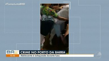 Adolescente é esfaqueado durante festa no Porto da Barra, em Salvador - O crime aconteceu no último sábado (18); confira.