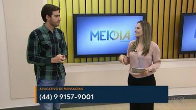 O Meio-Dia Paraná quer aumentar ainda mais a interatividade com o público - Nós convidados o Marcos Regioli Júnior que sempre participou do Paraná TV.