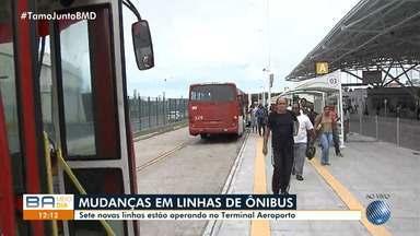 Terminal Aeroporto ganha sete novas linhas de ônibus; saiba quais são elas - Mudança entrou em vigor no último sábado (18).