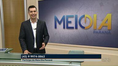 Depois de 19 anos, Paraná TV muda de nome e Meio Dia Paraná entra no ar - A estreia foi nesta segunda-feira (20).