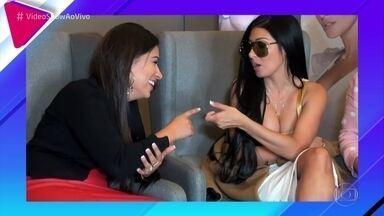 Simone e Simaria revelam intimidades na 'Selfie da Verdade' - Dupla conversa com Mônica Salgado e mostra sintonia entre as irmãs