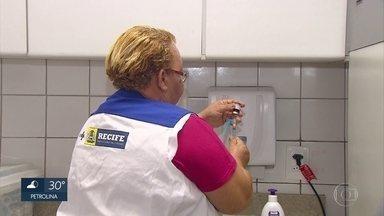Recife vacina mais de 320 mil crianças contra sarampo e poliomielite - Campanha segue até o fim de agosto.