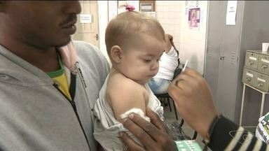 Cerca de 4 mil crianças não foram vacinadas contra o sarampo e paralisia em Cachoeiro - Balanço foi divulgado nesta segunda-feira (20).