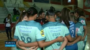 Cianorte goleia time de Roraima e está na final da Copa do Brasil de Futsal Feminino - A classificação é inédita para a equipe.