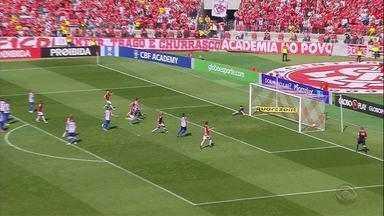 Vitórias no fim consolidam campanha do Inter na ponta de cima do Brasileirão - Assista ao vídeo.