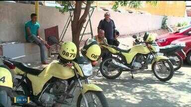 Mototaxistas de Teresina correm risco de perder permissão para trabalhar na cidade - Mototaxistas de Teresina correm risco de perder permissão para trabalhar na cidade