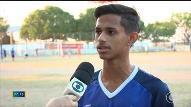 Time do Fluminense se prepara para Campeonato Piauiense sub-17 - Time do Fluminense se prepara para Campeonato Piauiense sub-17