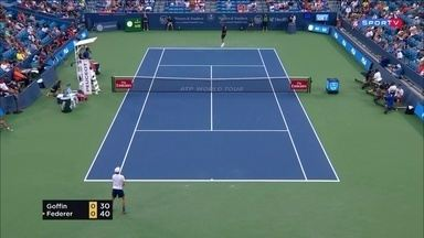 Masters 1000 - Cincinnati - Goffin x Federer - Semifinal