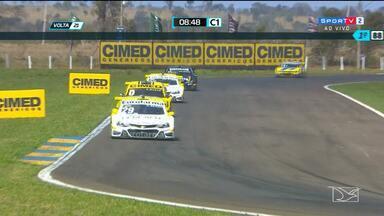 Rafael Suzuki faz boa corrida na etapa de Campo Grande, da Stock Car - Piloto, que representa o Maranhão, termina na 11ª colocação