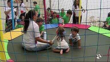 Semana Nacional da Pessoa com Deficiência Intelectual e Múltipla é realizada em Caruaru - Evento é organizado pela Apae.