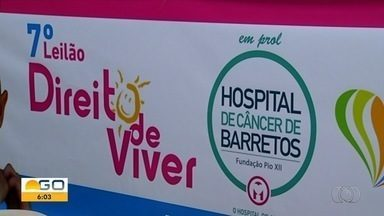 Voluntários de Itumbiara promovem leilão para ajudar Hospital do Amor, em Barretos - Instituição filantrópica precisa de recursos para oferecer atendimento gratuito à população.