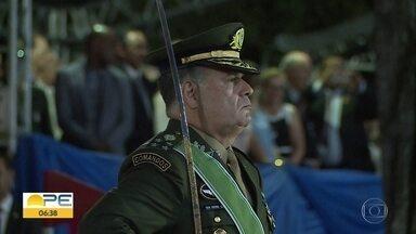 General Marco Antônio Freire Gomes é o novo Comandante do Comando Militar do Nordeste - Cerimônia de passagem de comando aconteceu na terça-feira (21), no Recife.