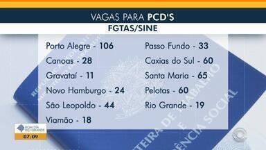 Sine de Porto Alegre oferece 106 vagas para pessoas com deficiência - Veja mais detalhes.