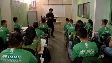 Instituição que capacita jovens para o mercado de trabalho é apoiada pelo Criança Espe - Saiba mais em g1.com.br/ce