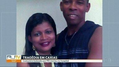 Morre a mulher baleada na cabeça em abordagem da PM em Duque de Caxias - Vânia Tibúrcio teve morte cerebral confirmada.
