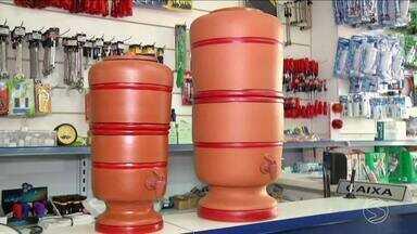 Lojas especializadas registram aumento na procura por filtro de barro - Estudo constatou que filtro brasileiro é o mais eficiente do mundo.