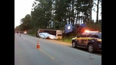 Mulher morre em acidente de trânsito na BR-392 em São Sepé - O acidente aconteceu na tarde de terça-feira.
