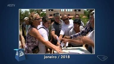 Calendário ESTV: moradores de Ilha do Sol, em Guarapari, pedem melhorias no bairro - Comunidade quem calçamento de ruas e área de lazer.
