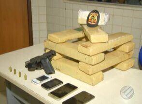 Polícia apreende cerca de 10 kg de maconha em ponto de venda em Parauapebas, no Paraá - Dois homens foram presos.
