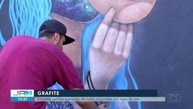 Conheça um pouco dos grafiteiros de Palmas e suas artes - Conheça um pouco dos grafiteiros de Palmas e suas artes