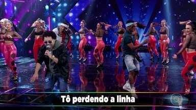 Malha Funk canta 'Vira de Ladinho' - Grupo se apresenta no Ding Dong