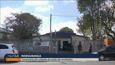 Unidades de saúde na mira de assaltantes - Nos últimos meses, nove unidades foram assaltadas em Curitiba.