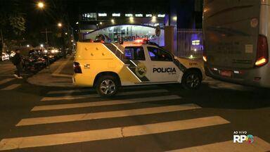 Acidente deixa trânsito tumultuado no centro de Foz - Batida foi na região do Bairro Maracanã.