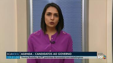 Eleições 2018: Confira a agenda dos candidatos ao governo do Paraná - Veja a agenda desta segunda-feira (27).