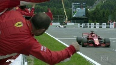 Vettel vence na Bélgica e diminui vantagem de Hamilton no Mundial de Fórmula 1 - Piloto alemão venceu de ponta a ponta e vai confiante para próxima corrida, na Itália.